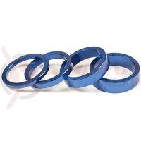 Set distantier Salt pentru Headset 3, 5, 8, 10mm albastru mat