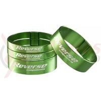Set distantiere Reverse 1.1/8 aluminiu verzi