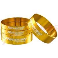 Set distantiere Reverse Ultra-Light 1.1/8 aluminiu aurii