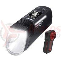 Set Far- Trelock Ls 660 I-Go Vision Lite / Spate Ls 740 Vector Signal - Negru