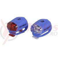 Set lumini cu baterii Extend Froggies albastru