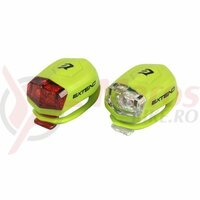 Set Flash cu baterii Extend Froggies Verde