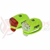 Set Flash cu Baterii P2R FREYO Verde Lime
