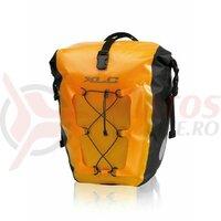 Set geanta waterproof XLC 21x18x46cm yellow  2 buc