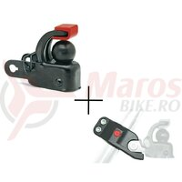 Set Hebie F1 + Seat Postadapter for Trailer Coupling F 1