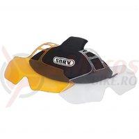 Set lentile de schimb Abus In-Vizz accessory clear & amber kit