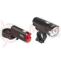 Set lumini cu baterii M-Wave Atlas K50