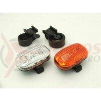Set Lumini - fata & spate - 3 LED + baterii