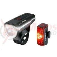 Set lumini fata spate Sigma Aura 60 + Infinity USB