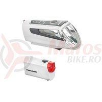 Set lumini fata/spate Trelock LS 560 I-GO Control / LS 720 C