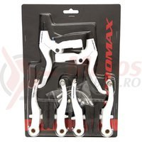 Set manete frana v-brake negre Promax