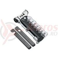 Set mini scule multifunctionale Topeak Ratchet Rocket, TT2520 - Negru-Argintiu