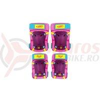 Set Protectie Skate  Seven-Soy Luna roz