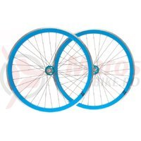 Set roti single speed/fixie 700x32H-40 mm SXT albastru