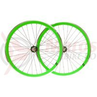 Set roti single speed/fixie 700x32H-40 mm SXT verde