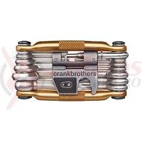 Set scule Multi Tool Crankbrothers M19 Gold