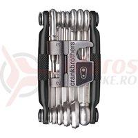 Set scule Multi Tool Crankbrothers M19 negru