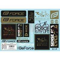 Set sticker mix Force 30 Years, 19 bucati-A5