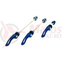 Set strangatoare rapide XLC QR-L05 culoare albastra