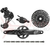 Set transmisie Sram GX Eagle DUB 1x12 170 mm