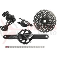 Set transmisie Sram X01 Eagle DUB 1x12 brat 175mm, CL52mm Boost