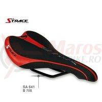 Sezut Strace Shair, 275x135mm, negru/rosu