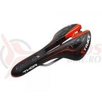 Sezut Strace Thor 278x136mm, Cr-Mo, negru/rosu/alb