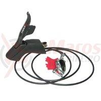 Maneta frana/schimbator HRD Sram Red-eTap 11s right,hydr.disc br.rear 1,800mm DM