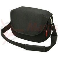 shoulder bag KLICKfix Fun Bag black, 25x19x8cm, w/o handleb.adap.