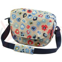 Geanta KLICKfix Fun Bag millefleurs 25x19x8cm w/o handleb.adap.