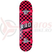 Skateboard RAD checkers Complet 7.75