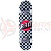 Skateboard RAD Checkers Complete 7.5