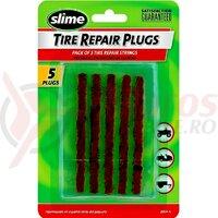 Slime tubeless repair plugs 5 bucati