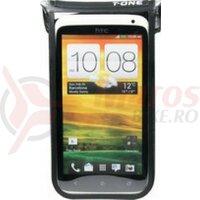 Smartphone Case T-One Akula II PU, black, waterproof, 148x75x10 mm