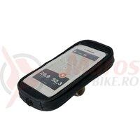 Suport telefon SKS Smartboy Plus negru, plastic