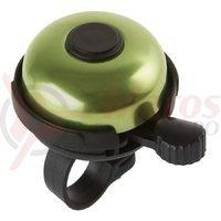 Sonerie aluminiu M-Wave Rotary Action 53 mm verde