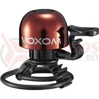 Sonerie bicicleta Voxom KL15 22,2-31,8mm, O-Ring, red