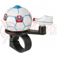 Sonerie M-Wave minge fotbal design steag national al Slovaciei