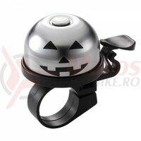 Sonerie Ostand CD-613 Pumpkin alu/plastic, argintiu/negru, 37,5mm, clema ghidon 22,2mm