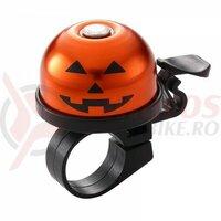 Sonerie Ostand CD-613 (Pumpkin) alu/plastic, portocaliu/negru, 37,5mm, clema ghidon 22,2mm