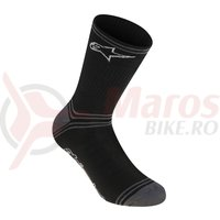 Sosete Alpinestars Winter black/gray