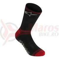 Sosete Alpinestars Winter black/red