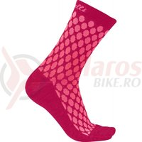 Sosete Castelli Sfida 13 de dama roz