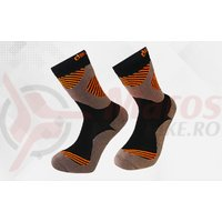 Sosete Davraz outdoor line negru/gri/orange