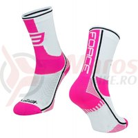 Sosete Force Long Plus roz/negru/alb
