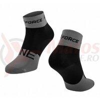 Sosete Force One, gri/negru