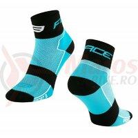 Sosete Force Sport 3, albastru/negru