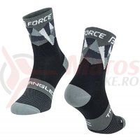 Sosete Force Triangle negru/gri