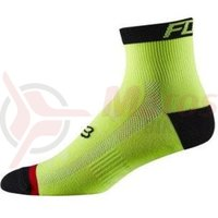 Sosete Fox Mtb-Trail Sock 4 flo yelow