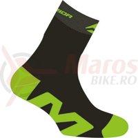 Sosete Merida green/black